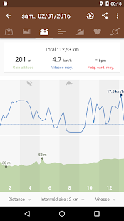 Runtastic Mountain Bike PRO Capture d'écran