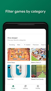 Google Play Jeux Capture d'écran