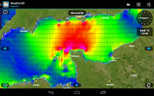Weather4D Capture d'écran