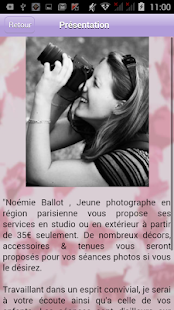Noémie Ballot Photographies Capture d'écran