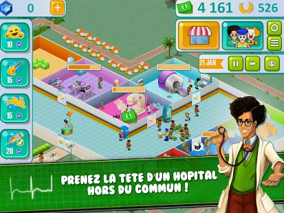 Hospital Manager Capture d'écran