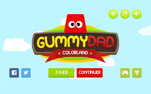 Gummy Dad Colorland Capture d'écran