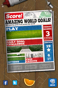 Score! World Goals Capture d'écran