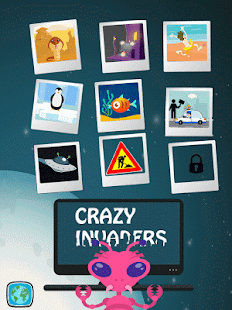 Crazy Invaders, un jeu de tir simple et addictif Capture d'écran