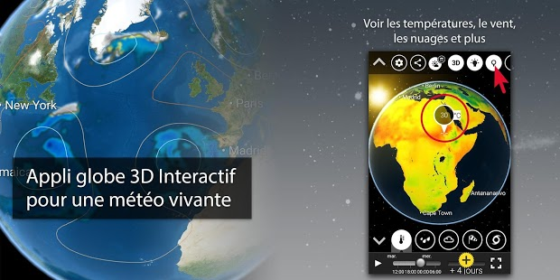 MeteoEarth Capture d'écran