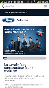 Ford Service Capture d'écran