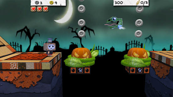 Paper Monsters 3d platformer Capture d'écran