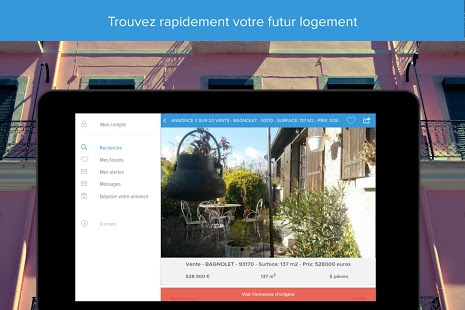 Home'n'go - Immobilier Capture d'écran