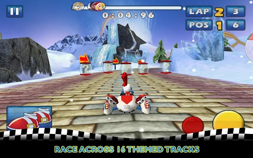 Sonic & SEGA All-Stars Racing™ Capture d'écran
