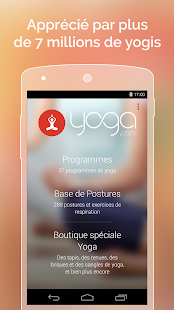 Yoga.com Capture d'écran