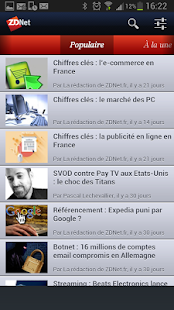 ZDNet France Capture d'écran