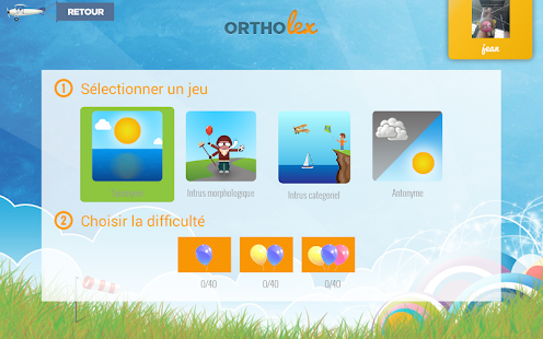 Ortholex Capture d'écran