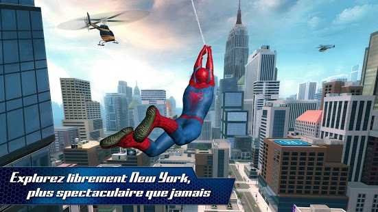 The Amazing Spider-Man 2 Capture d'écran