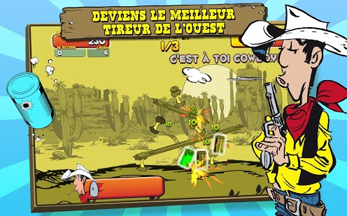 Lucky Luke Shoot & Hit Capture d'écran