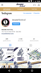 Insane Festival 2018 Capture d'écran