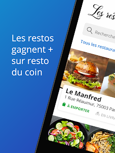 Resto du Coin Capture d'écran