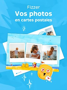 Fizzer - Cartes postales, Albums photos Capture d'écran