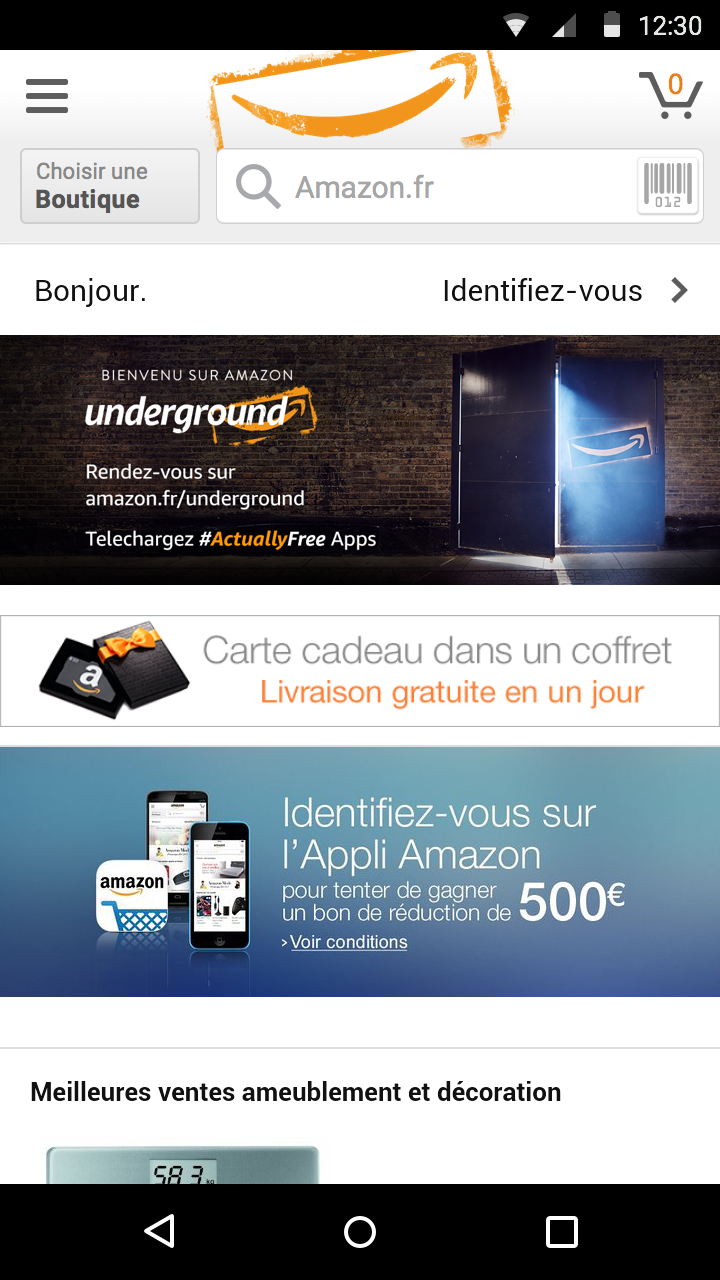 Amazon Underground Capture d'écran