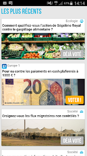 MultiVote Capture d'écran