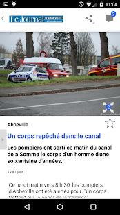 Le Journal d'Abbeville Capture d'écran
