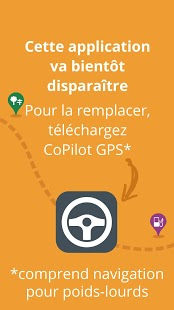 CoPilot Truck France Capture d'écran