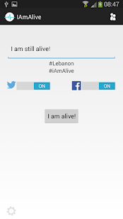 I am Alive Capture d'écran