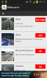 Trafic Info & Webcams - France Capture d'écran