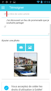 GoMet Capture d'écran