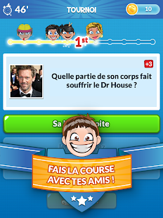 Quiz Run - Jeu fun entre amis Capture d'écran