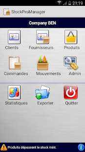 StockProManager Trial Capture d'écran