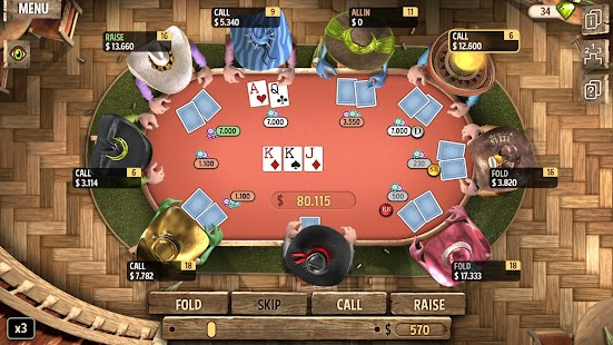 Governor of Poker 2 - OFFLINE POKER GAME Capture d'écran