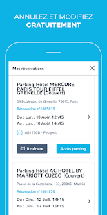 Onepark : Réservation de parkings Capture d'écran