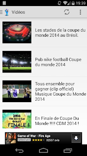 Coupe du Monde 2014 Capture d'écran