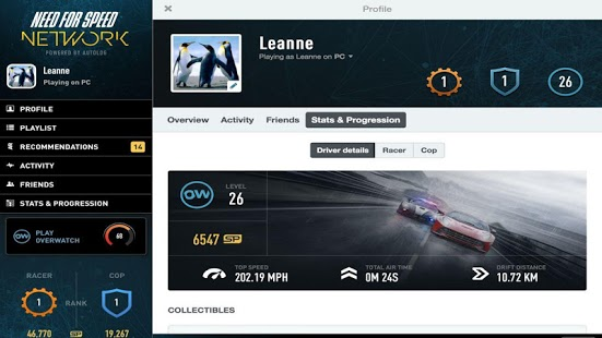 Need for Speed™ Network Capture d'écran