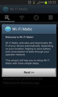 Wi-Fi Matic - Auto WiFi On Off Capture d'écran