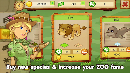 Animal Park Tycoon Capture d'écran