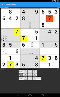 Sudoku Addict Capture d'écran