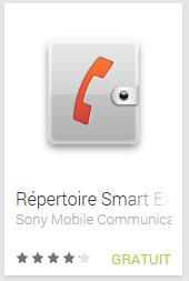 Répertoire Smart Extras™