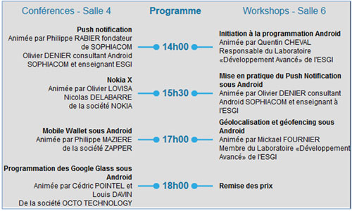 Android Day by ESGI – 2ème édition