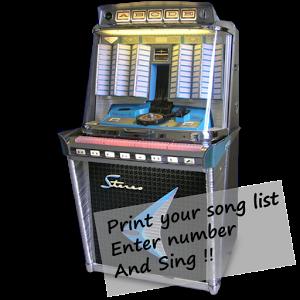 Jukebox – Imprimer et chanter