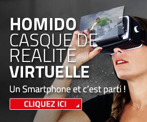 Casque de réalité virtualle Homido VR