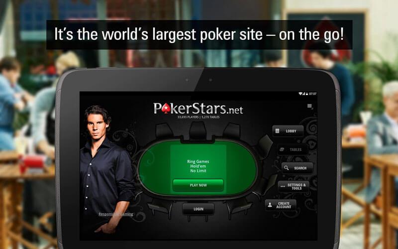 PokerStars est la plus importante salle de poker en ligne et est à présent disponible sur votre appareil Android.