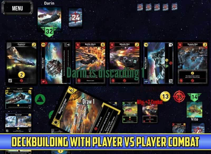 Star Realms est le nouveau jeu de cartes à collectionner qui fait fureur sur Android