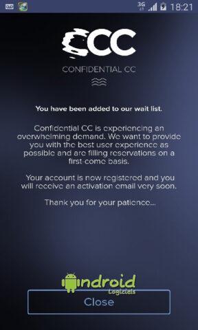 Confidential CC
