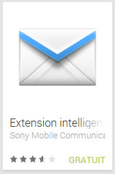 Extension intelligente Email