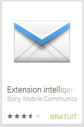 Extension intelligente Email