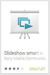 Slideshow smart extension