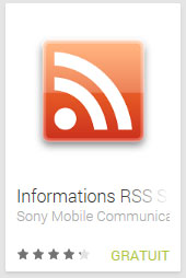 Informations RSS Smart Extras™