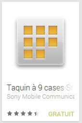 Taquin à 9 cases Smart Extras™