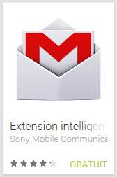 Extension intelligente Gmail